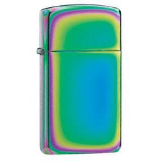 Slim Line Spectrum Zippo Lighter