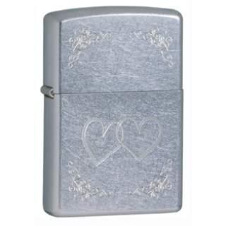 Street Chrome™ Hearts Zippo Lighter