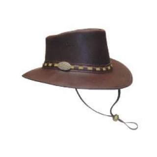 Full Grain Leather Hat (Cowboy Style)