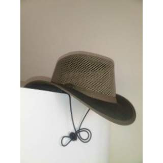 """Cotton Drill """"Airhead"""" Cooling Summer Hat"""