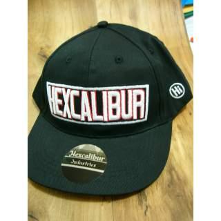 Genuine Hexcalibur Snap Back Cap (Black with Logo)