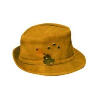Suede Trilby