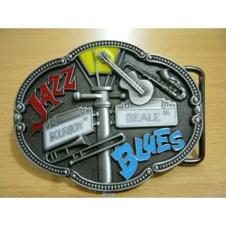 """Quality """"Jazz & Blues"""" Belt Buckle."""