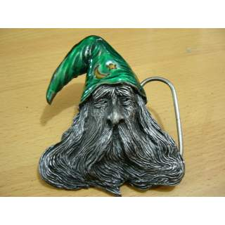 American Made Gandalf Style Wizard Belt Buckle
