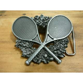 Tennis Players Belt Buckle