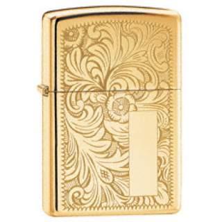 Brass Venetian Zippo Lighter.Great for engraving