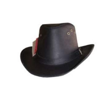 Leather Rodeo Hat