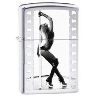Pole Dancer Sexy and Seductive Zippo Lighter