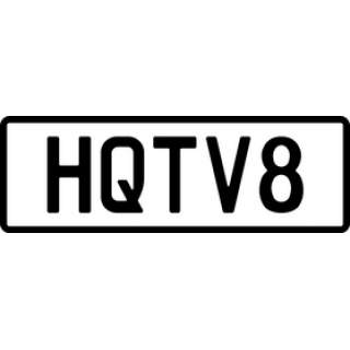 HQTV8 Personalised Plate (Made)