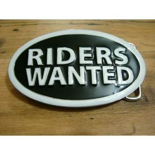 Riders Wanted Motor Cycle Belt Buckle
