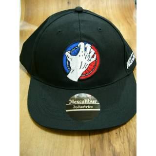 Genuine Hexcalibur Snap Back Cap (Black/Hand Logo)
