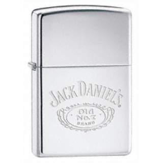Jack Daniel's® Logo - High Polish Chrome Zippo Lighter