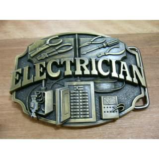 Electrician Trades Belt Buckle *New Design*