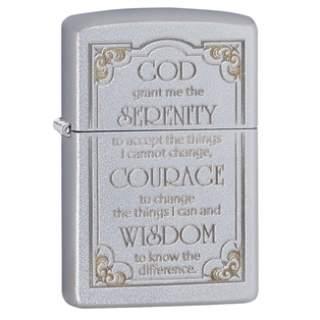 Serenity Prayer Zippo Lighter