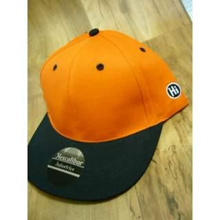 Genuine Hexcalibur Snap Back Cap (Orange & Black)