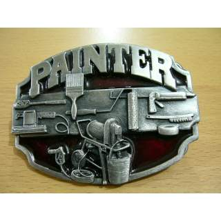 Painter's Pewter Belt Buckle.USA Made