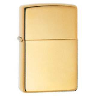 Armor Pure solid brass high polish lighter