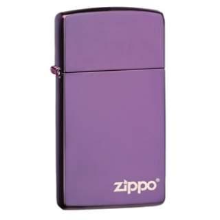 Slim® Abyss Purple Zippo Lighter