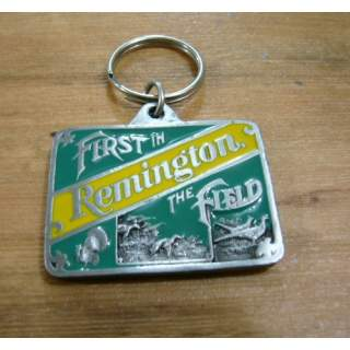 Remington Fire Arms Pewter Key Ring