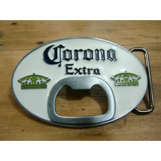 Corona Extra White Label Belt Buckle
