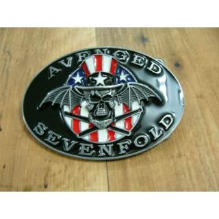 Avenged Sevenfold Music Group Belt  Buckle