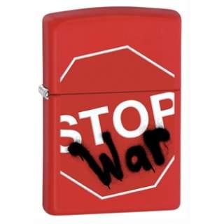 Stop War Zippo Lighter