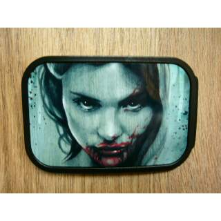 VAMPIRE MISTRESS AMERICAN MADE PICTURE BELT BUCKLE