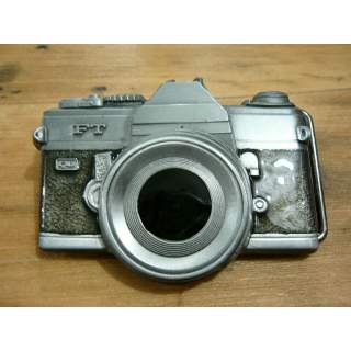 Photographer Camera Shaped Belt Buckle