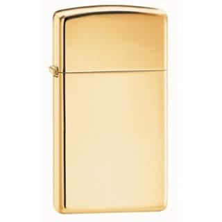 Slim Line High Polish Solid Brass