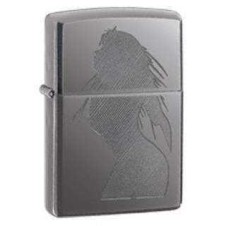 Seductive Silhouette Zippo Lighter