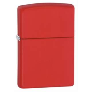 Red Matt Finish Zippo Lighter