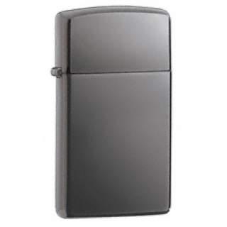 Slim Line Black Ice Zippo Lighter