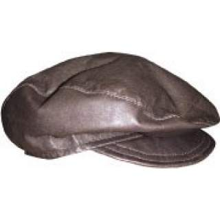 Cheesecutter Cap (Leather)
