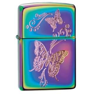 Butterfly Spectrum Zippo Lighter