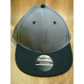 Genuine Hexcalibur Snap Back Cap (Grey & Black)