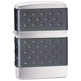 Black Zip Guard Non Slip Zippo Lighter