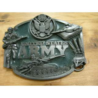 US ARMY INFANTRY BELT BUCKLE OLD STOCK 7.5/10