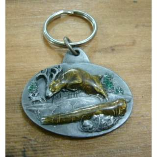 Deer Hunting Key Ring