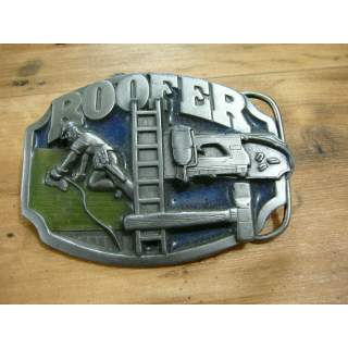 Roofer Trade Belt Buckle (Imperfect) Condition  7/10