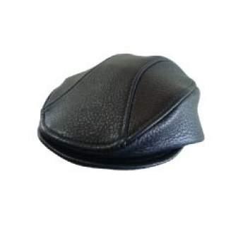 Cheese Cutter Cap (Deerskin) Trim Style