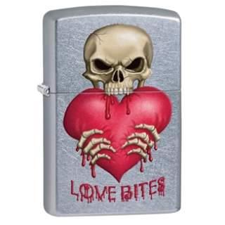 Love Bites Zippo Lighter