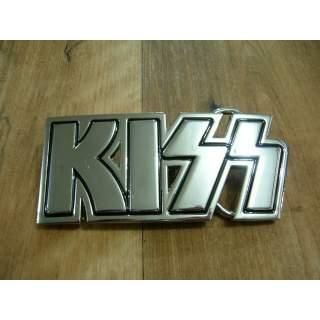 KISS Music Group Belt Buckle.Black n Silver