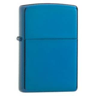 Sapphire Colour Finish Zippo Lighter