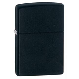 The Classic Black Zippo Lighter